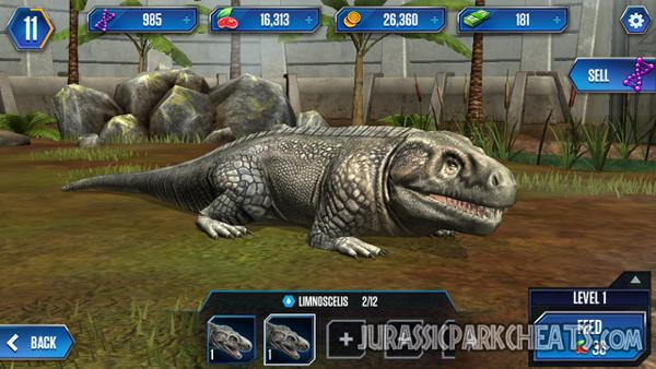 jurassic-world-game-limnoscelis-dinosaur