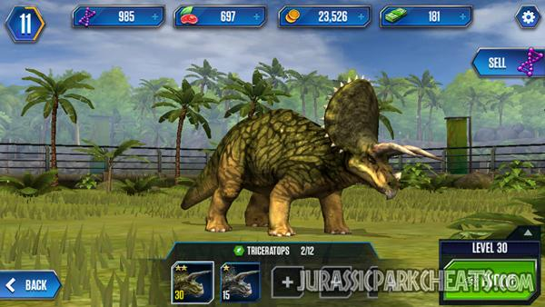 jurassic-world-game-triceratops-dinosaurs