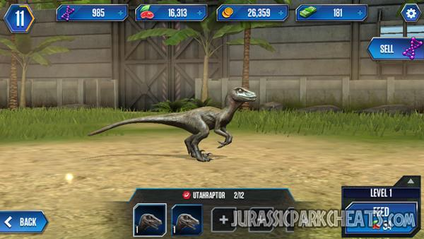 jurassic-world-game-utahraptor-dinosaur